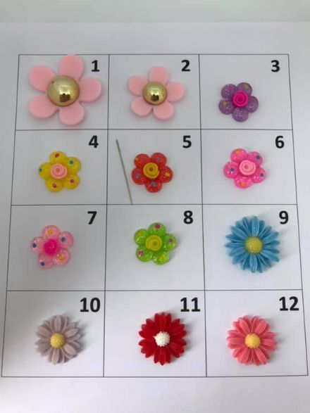 Flower Needle Minders